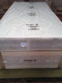 Brand New Comfy Single Ortho Comfort Bed set, tufted Fabric FREE delivery