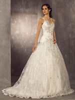 Lan Ting A-Line / Princess Wedding Dress, Vail and Purse