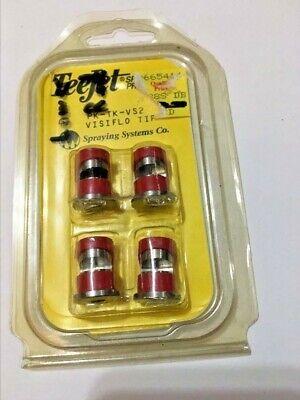 Teejet Spray Tips 4 Pk-tp-vs2 Visiflo Tip Free Shipping