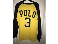 2x Genuine Ralph Lauren Polo & Tshirt, plus Benetton Polo - All Aged 8 Years