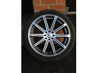 "18"" Audi Ford Citroen VW 4x108 4x100 wheels alloys ( BK Racing )"