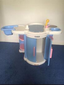 Berchet children's play baby changing unit