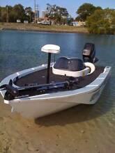 custom plate aluminium bream and bass boat Tea Gardens Great Lakes Area Preview