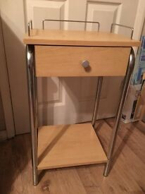 Small side table with drawer