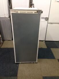 neff integrated larder fridge