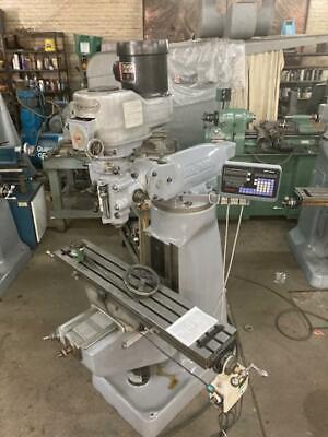Recond Bridgeport Milling Machine Vari Speed
