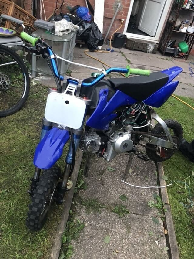 50cc Pitbike electric start fully working very rare bike | in Washwood  Heath, West Midlands | Gumtree