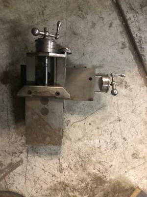 Hardinge Type Metalworking Lathe Cross Slide Compound Rest Jewelers Hardinge