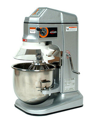 Brand New Axis Ax-m12 12 Qt Quart Planetary Dough Mixer - Free Shipping