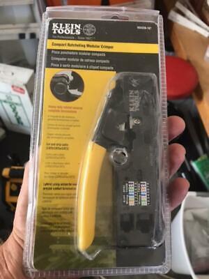 Klein Tools Compact Ratcheting Modular Crimper