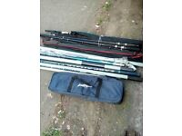 Rods and poles for sale