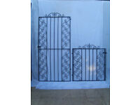 Wrought Iron Front & Side matching gates