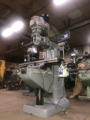 Recondition Bridgeport Milling Machine Vari Speed 1-12 Hp