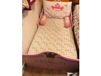 Pink Princess Children's bed