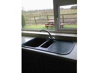 Kitchen Worktops and Sink