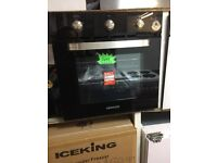 KENWOOD ALL GAS SINGLE INTEGRATED OVEN-BLACK--NEW-FAB PRICE