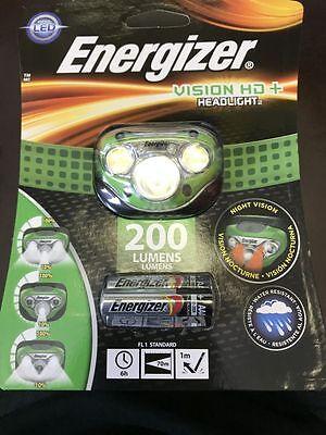 Energizer Vision Hd  Headlight 200 Lumens Brand New