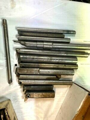 Bridgeport Milling Machine Boring Head Boring Bar Lot