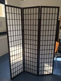 Japanese style room screen