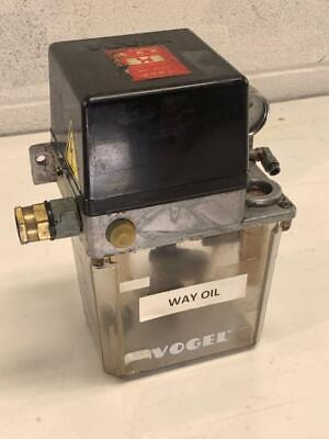 Willy Vogel Automatic Lubricator Unit Mod Na 100-110v Used Read Description