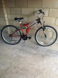 Mountain bike 26 inch, small frame