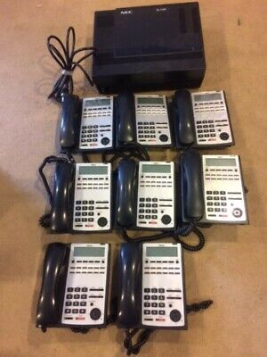 Nec Office Phone System With 8 Phones