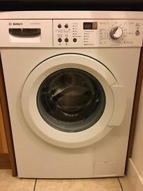 Bosch washing machine only 2years old