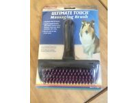 Four Paws Ultimate Touch Massaging Dog Brush