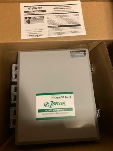 ZOELLER 10-1080 Pump Control Panel For Zoeller
