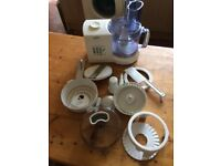 food processor plus all accessories, perfect working order