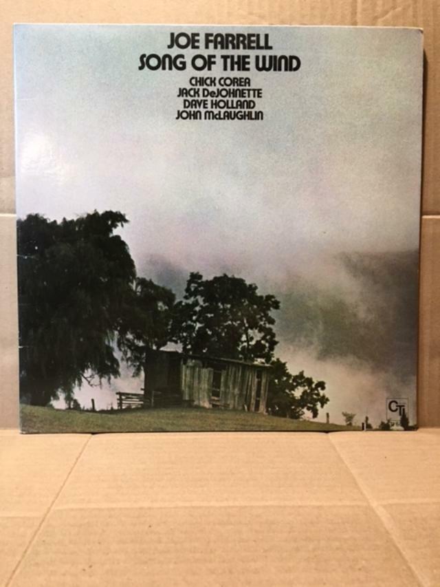 JOE FARRELL SONG OF THE WIND CHICK COREA RECORD VINYL CTI 6067 GATEFOLD VG/VG  - $11.99