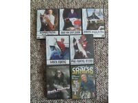 Different skills FISHING DVDs shown by fishing masters. Great DVDs.