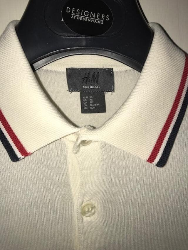 d74b4f94 Fred Perry T-Shirt, Jack Wills T-Shirt & H&M Vintage Wool Polo - All XS  Mens : Excellent Condition