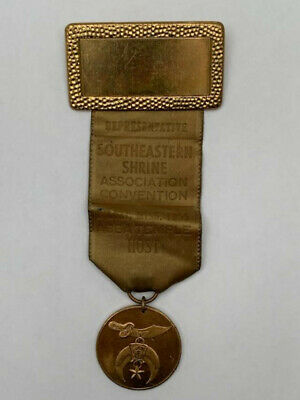 Southeastern Shrine Association 1955 Representative Badge