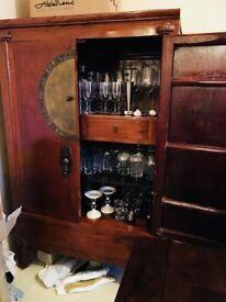 Oriental antique Cabinet