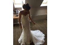 Wedding Dress Mori Lee Ivory Size 8