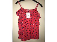 Girls M&S summer top 13-14yrs Brand new