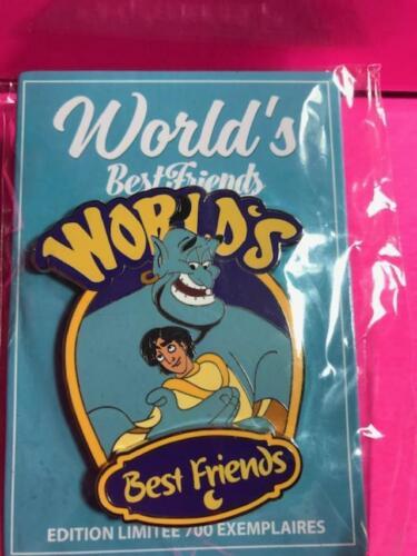 DLRP DLP Disney Land Paris Aladdin Genie World's Best Friends Pin Series LE 700