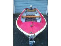 Tender/fishing boat.