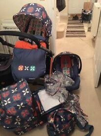 Cosatto travel system and isofix