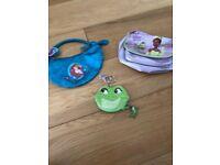 Disney Princess Ariel handbag and Disney Princess & the Frog handbag and purse