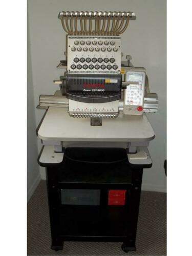 Toyota Expert ESP9000 Embroidery Machine WITH TABLE INCLUDED