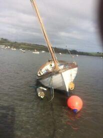 16ft Danish Kosta motor/sailer