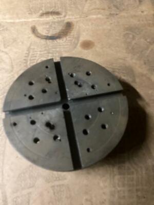 Hardinge Lathe Taper Mount C24 Face Plate Adapter Plate 7