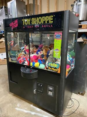 Toy Shoppe Crane Stuffed Toy Vending Machine Wcoinbill Acceptor And Toys