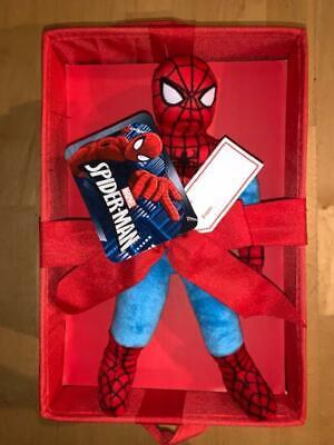 "Marvel Spider-Man Pillow Buddy And Storage Box Gift Set 8""x12"""