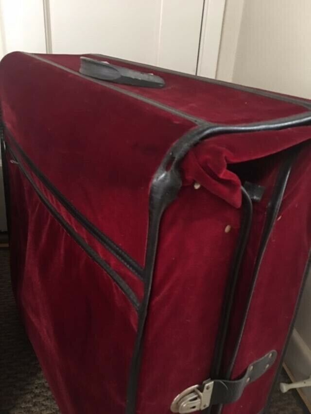 Vintage Velvet Suitcases From The 1960 s - $90.00