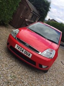 Ford Fiesta Flame 1.4 - long 13 months MOT - 2 lady owners from new - 80k miles, FSH, £995
