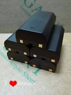 New 5pcs - 2600 Battery For Trimble 5700 5800 R7 R8 54344 2600 Mah Gps