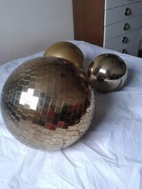 Giant Bubbles/ Disco Mirror Ball